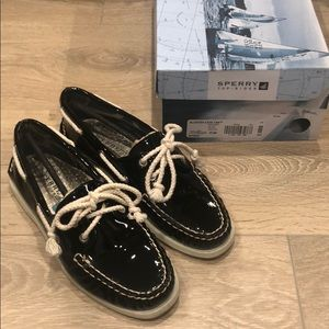 Sperry Top-Sider Leather Patent